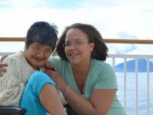 Lori-Nishimura-and-Crystal-Andrade_Alaska-cruise-4_3